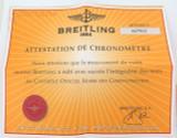 "BREITLING "" COLT OCEANE II "" DIAMOND REF. A7738053 INSTRUCTIONS + CERT ETC"