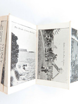 SCARCE EARLY 1900s SYDNEY, AUSTRALIA FOLDOUT POSTCARD. 12 PICTURES, VALENTINE.