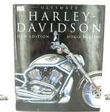 """ULTIMATE HARLEY DAVIDSON"" MOTORCYCLE LARGE HARDCOVER BOOK."