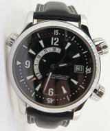 Jaeger-LeCoultre Master Compressor Steel Memovox 146.8.97 Box & Papers