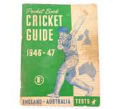 SCARCE 1946 - 47 ASHES PRE TOUR GUIDE. ENGLAND - AUSTRALIA.