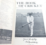 "c1899 SIGNED & EDITED by C B FRY ""THE BOOK OF CRICKET GALLERY OF FAMOUS PLAYERS"""