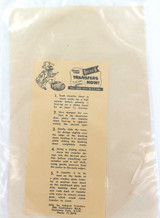 """EARLY 1970s CRONULLA SHARKS LARGE UNUSED STICKER """"THIS IS SHARK TERRITORY""""."""