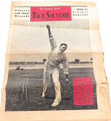 CRICKET. THE SUNDAY HERALD. 1950-51 PRE-TOUR ASHES SOUVENIR. ENGLAND PLAYERS.