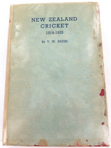 "1936 ""NEW ZEALAND CRICKET 1914 - 1933"" VOL.2 by T W REESE."