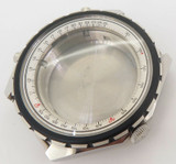 Vintage Breitling Chronomatic Steel 48mm Case Complete ref 1808 NEW OLD STOCK