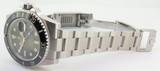 Auth 2014 Rolex Ceramic Submariner Steel Wrist Watch Full Box Set 116610LN