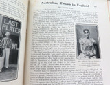 """1902 2 VOLUMES """"CRICKET OF TO-DAY AND YESTERDAY"""" by PERCY CROSS STANDING."""