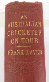"RARE 1905 INDIA & COLONIES ONLY ""AN AUSTRALIAN CRICKETER ON TOUR"" by FRANK LAVER"