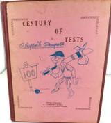 "c1967 RARE BOOK INDIA'S 100TH TEST ""CENTURY OF TESTS PILGRIMS PROGRESS"" by DUTT"