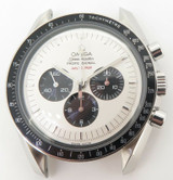 Vintage 1971 Omega Steel Speedmaster Chronograph Watch Rebuilt With N.O.S Parts