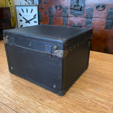 C 1920's Black Hat Travel Trunk by Elusive French brand Goyard