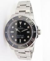 2015 Rolex Ceramic Sea-Dweller 4000 Steel Automatic Watch 116600