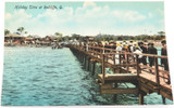 """c1910 REDCLIFFE """"HOLIDAY TIME AT REDCLIFFE"""" COLOUR POSTCARD. RETRAC SERIES"""