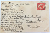 """c1910 REDCLIFFE """"THE RED CLIFFES"""" COLOUR POSTCARD. EDCO SERIES 1500."""