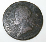 1760 GEORGE II IRISH HALPENNY.