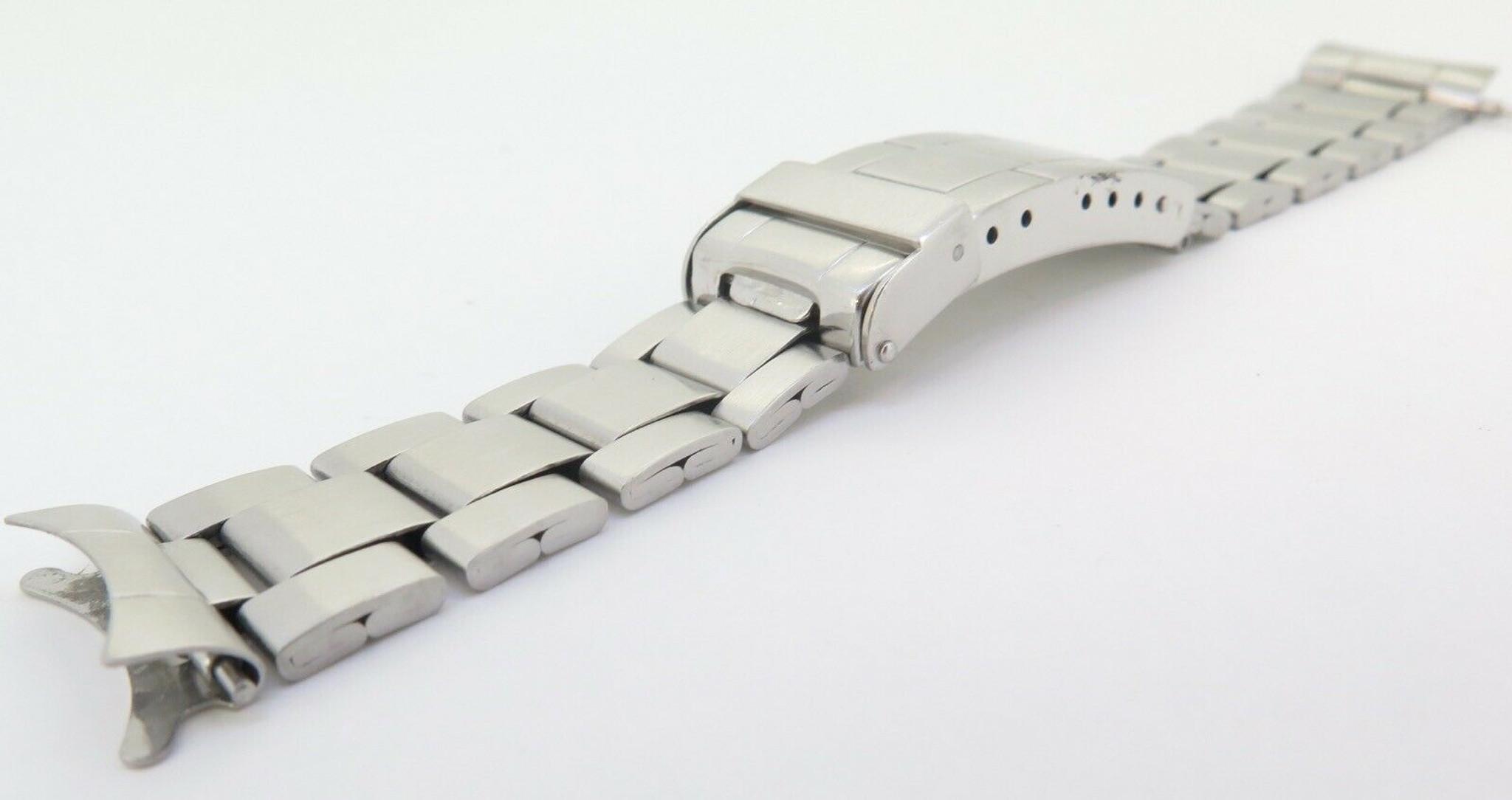 Vintage Rolex Submariner 9315 280 Steel Folded Link 20mm Bracelet ...