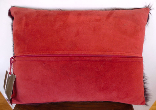 DECORATIVE BROWN CUSHION BY LATIN AMERICAN DESIGN-HOUSE CUEROS LATINOS