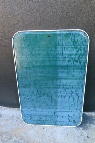 """SCARCE AMERICAN 1962 7 UP """"FRESH UP"""" ADVERTISING SIGN."""