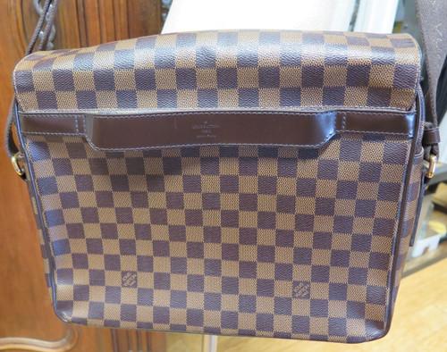 Authentic Louis Vuitton Damier Shelton Messenger Bag MM N41149