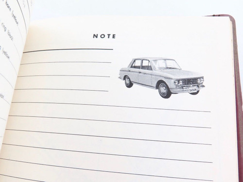 Rare Datsun Bluebird 410 official parts catalogue, 100's pages, superb reference