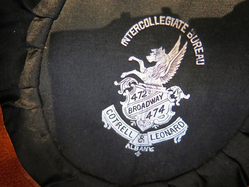Rare c1907 University of Pennsylvania 3 pc graduation regalia w/ name of owner