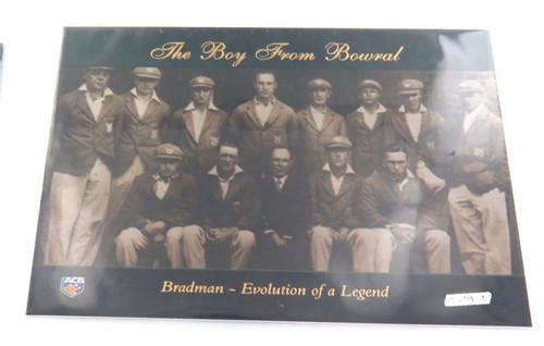 "Full set 15 cards - Don Bradman ACB Platinum ""Bradman. Evolution of a legend"""