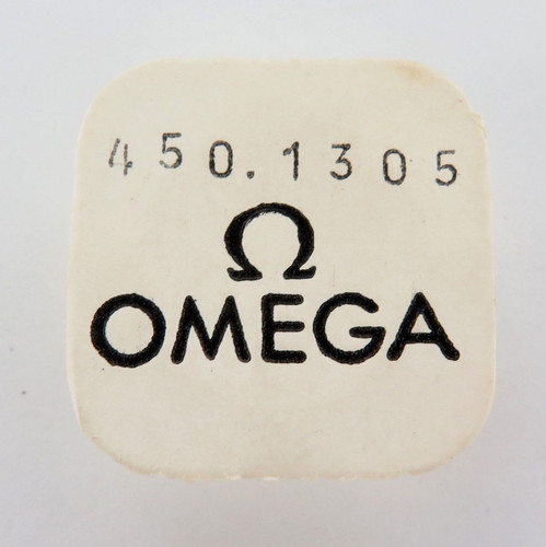 GENUINE / VINTAGE OMEGA CAL. 450 # 1305 ESCAPE WHEEL, NOS IN SEALED PACKET.