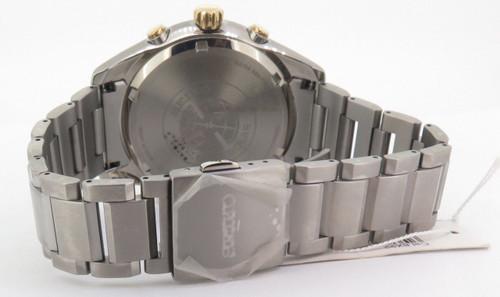 Seiko Astron GPS Solar Chronograph Titanium Watch SSE087J1