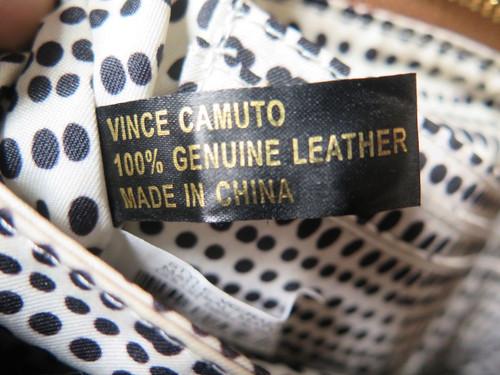 Vince Camuto VC- Rae -Fringe Bottom Cross Body Handbag
