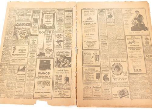 """RARE 1925 """"THE BRISBANE COURIER"""" SPECIAL SHOW (EKKA) EDITION NEWSPAPER."""