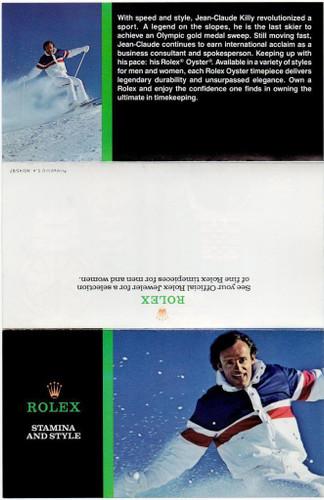 1987 ROLEX OYSTER PERPETUAL AIR KING/ DATEJUST/ LADIES + OYSTERQUARTZ BROCHURE