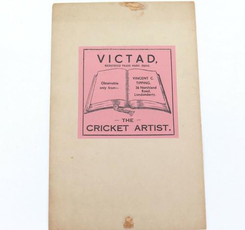 1930s PEN & INK CARICATURE, CRICKETER WALLY HAMMOND.