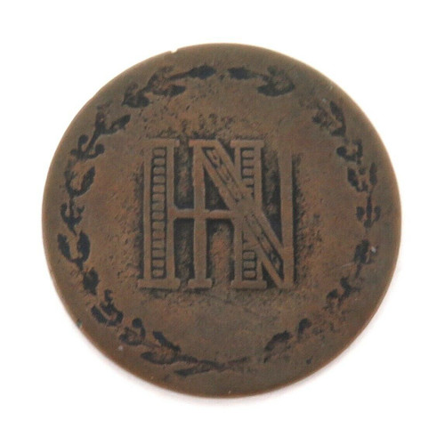 1810 GERMANY WESTPHALIA 3 CENTIMES COIN.