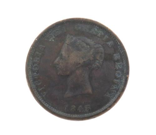 1843 NEW BRUNSWICK (CANADA) ONE PENNY TOKEN.
