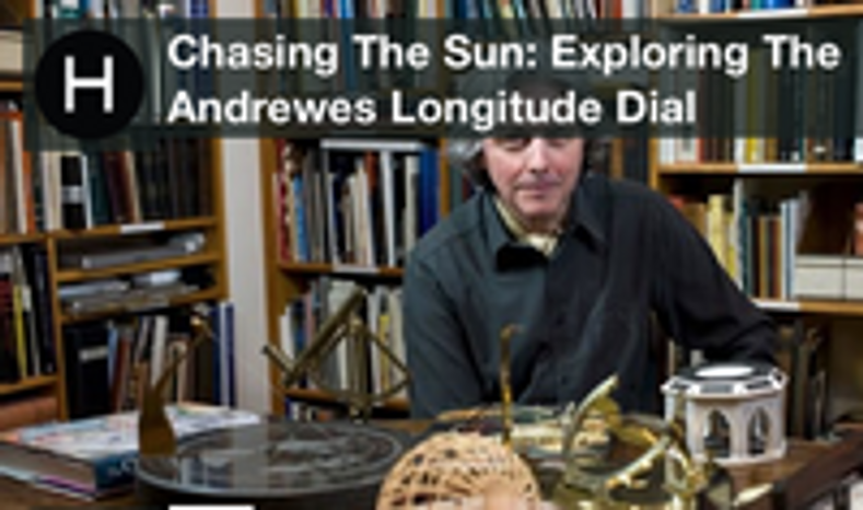 Interview with horologist Will Andrewes