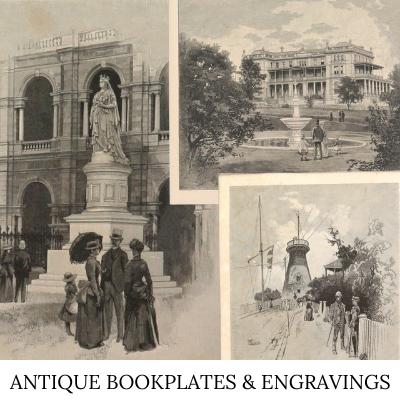 engraving bookplate