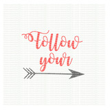 Follow your arrow SVG