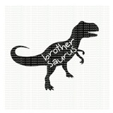 Brother Saurus SVG