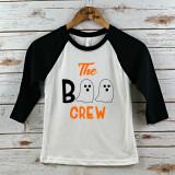 The Boo Crew Youth Halloween Raglan