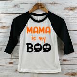 Mama is My Boo Youth Raglan