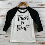 Trick or Treat Raglan