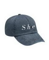 She hat
