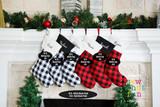Buffalo Plaid Stockings
