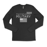 #GivingTuesday Military LONG SLEEVE