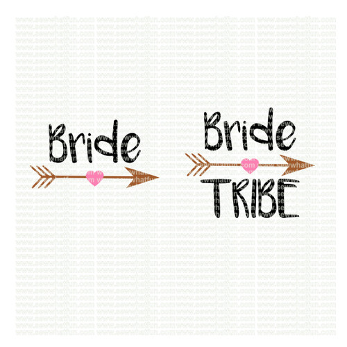 Bride tribe SVG