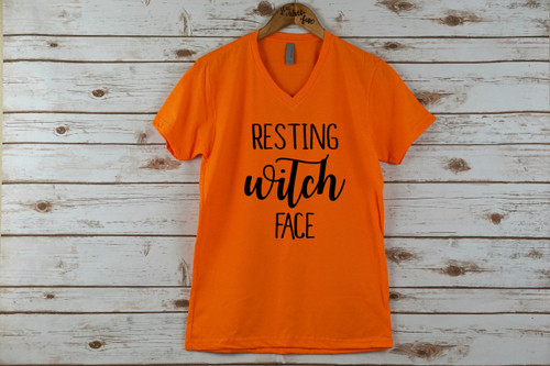 Resting Witch Face Adult Shirt