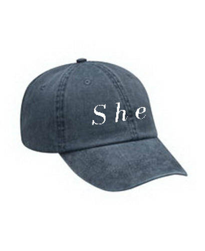 She hat