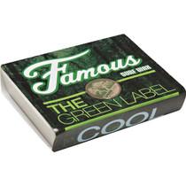 Famous Green Label Cool Single Bar Wax Organic