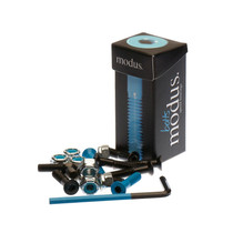 "Modus 1-1/2"" Allen Hardware Blk/Blue Single Set"